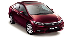 Honda CIVIC 4D (2012)(архив)